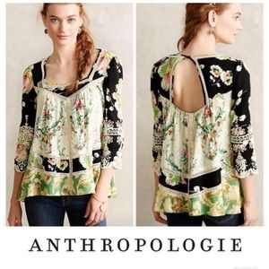 Vanessa Virginia Flowing Floral Top